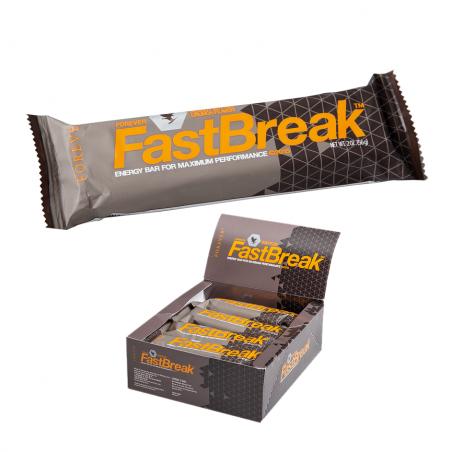 Forever Fast Break™ - wysokoenergetyczny baton czekoladowy - wspiera metabolizm - solidna porcja białka i błonnika - 12 sztuk