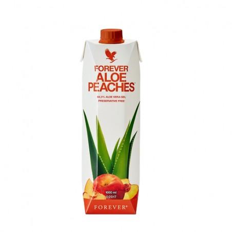 Forever Aloe Vera Peaches™ - miąższ z liści aloesu z sokiem z brzoskwiń wzbogacony w witaminę C