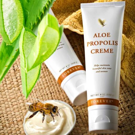 Forever Aloe Propolis Creme™ - antybakteryjny nawilżający krem aloesowo-propolisowy, likwiduje popękane naczynka