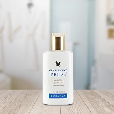 Forever Gentleman's Pride™ - aloesowa bezalkoholowa emulsja po goleniu, uniwersalny kosmetyk pielęgnacyjny dla mężczyzn