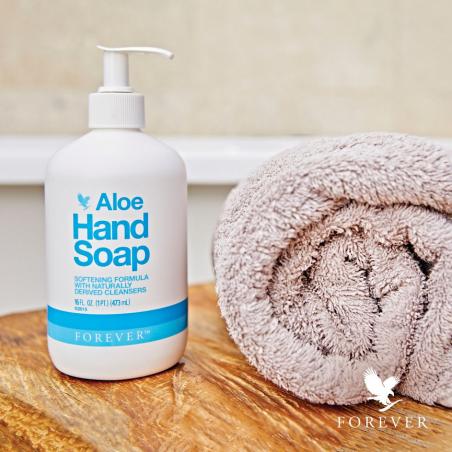 Forever Aloe Hand Soap™ - aloesowe mydło w płynie z wyciągiem z ogórka, olejkiem ze skórki cytrynowej i oliwą z oliwek