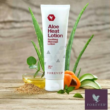 Forever Aloe Heat Lotion™ - aloesowa emulsja rozgrzewająca