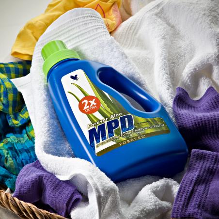 Forever Aloe MPD™ 2X Ultra - skondensowany płyn aloesowy do prania, zmywania, czyszczenia, wysoka jakość i wydajność, 946 ml