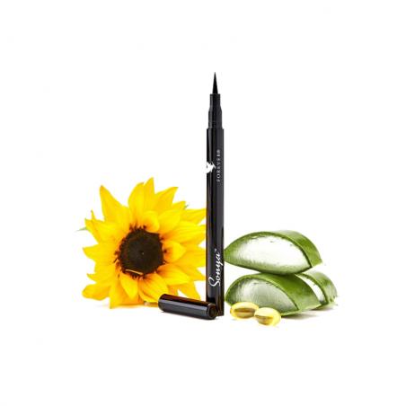 Forever Sonya precision liquid eyeliner™ - nawilżający aloesowy eyeliner który podkreśli twoje oczy, mocna, głęboka czerń