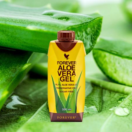 Forever Aloe Vera Gel™ Mini 330 ml - 1szt. x 330 ml - miąższ z liści aloesu wzbogacony w witaminę C