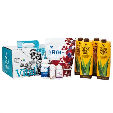 Forever Vital 5 Aloe Vera Gel™ - 30-dniowy zestaw silnie regenerujący organizm, zawiera Aloe Vera Gel