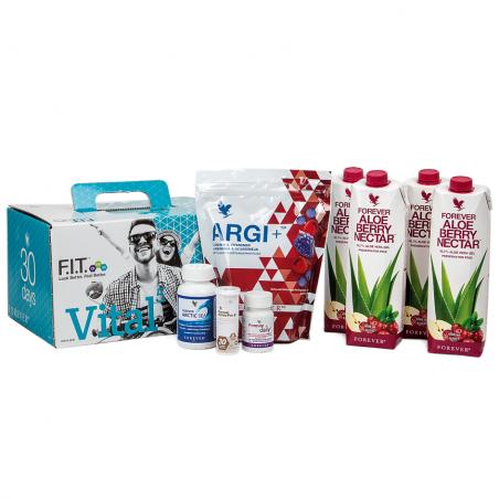 Forever Vital 5 Aloe Vera Berry Nectar™ - 30-dniowy zestaw silnie regenerujący organizm, zawiera Aloe Vera Berry Nectar