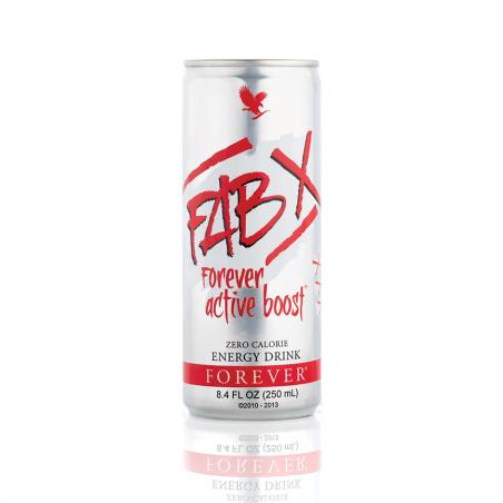 FAB X Forever Active Boost™ - napój zalecany przy intensywnym wysiłku fizycznym, zero kalorii - opakowanie 12 szt. x 250 ml