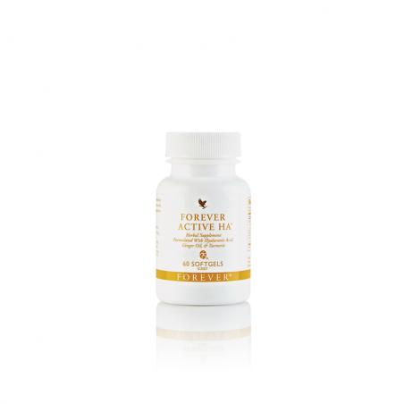 Forever Active HA™ - kwas hialuronowy wzbogacony dodatkiem cynku, olejku imbirowego i kurkumy