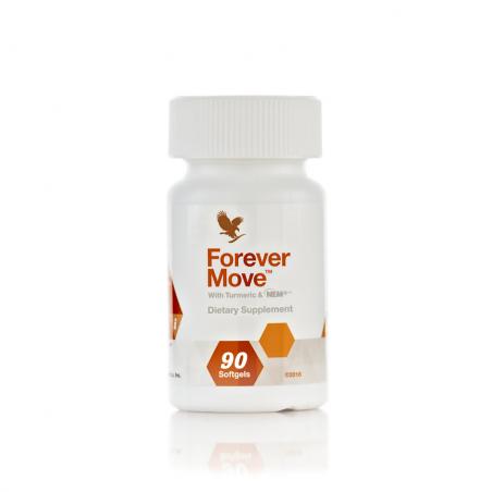 Forever Move™ - rozwiązanie dla zdrowych mięśni i stawów z kurkumą i formułą NEM