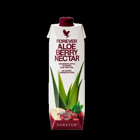 Forever Aloe Vera Berry Nectar™ - miąższ z liści aloesu z sokiem z żurawin wzbogacony w witaminę C