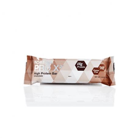 Forever PRO X2 - Chocolate™ - baton czekoladowy, zawiera izolat białek sojowych - wspomaga odbudowę tkanki mięśniowej - 10 sztuk